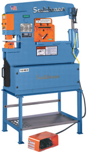45 Ton Scotchman Porta fab 45 Hydraulic Ironworker New 110v 1 Ph