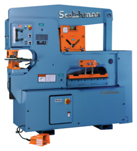 90 Ton Scotchman Hydraulic Ironworker No 9012 24m New 230v 3 Ph