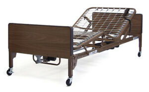 New Drive Medical Ultra Full Electric Hospital Bed Free Mattress