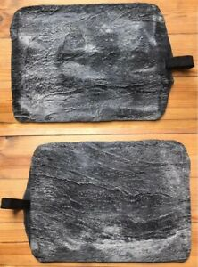 Concrete Texture Stamp Mat Rubber For Printing On Cement Sand