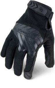 Ironclad Command Series Gloves Tactical Grip Black 12 Pack