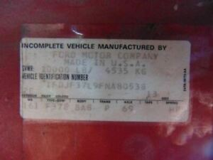 Manual Transmission 4 Speed New Process 435 Fits 81 87 Ford F150 Pickup 233529