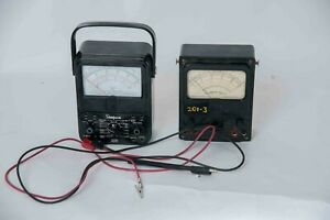 2 Vintage Simpson 260 Analog Volt ohm Milliammeter vom Series 6 Multimeter