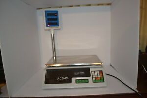 Computing Price Scale Acs cl Electronic Scale Turns On
