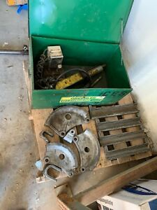 Greenlee 882 Flip top Bender For 1 1 4 2 Emt With 915 Hydraulic Power Unit