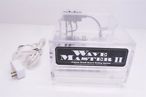 Wave Master Ii Pcb Printed Circuit Board Etching System Etching Heating Tank