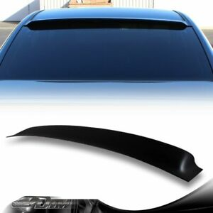 For 2013 17 Honda Accord 2dr coupe Smoke Acrylic Rear Window Roof Visor Spoiler
