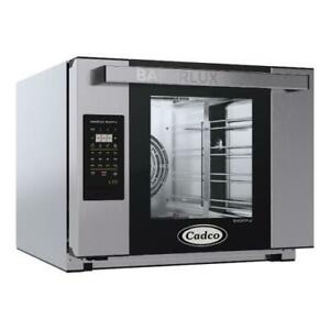 Cadco Xaft 04hs ld Bakerlux Half Size Electric Convection Oven