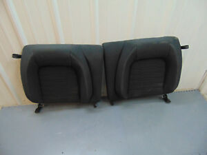 2017 Ford Mustang Rear Seat Back Cushion Black Cloth Very Nice 2015 2017 Oem