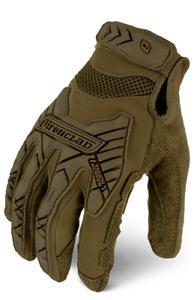 Ironclad Command Series Gloves Tactical Impact Coyote 12 Pack
