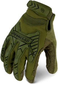 Ironclad Command Series Gloves Tactical Impact Od Green 12 Pack