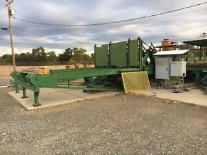 Mcdonough 54 Resaw W material Handling woodworking sawmill pallet