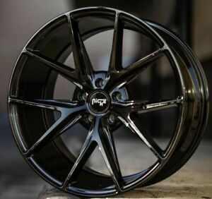 4 New 20 Staggered Rims Wheels For 2010 2011 2012 Camaro Ls Lt Rs Ss Only 5710