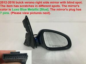 2012 2016 Buick Verano Right Side Mirror With Blind Spot 24