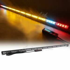 53 Led Emergency Warn Tow Truck Wrecker W Brake cargo Lights Strobe Light Bar