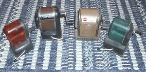Pencil Sharpener Estate Lot Of 4 1960 s 1970 s Value 4 For 1 Price Look