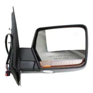 Mirror For 2011 Ford Expedition Lincoln Navigator Right Chrome Power Folding