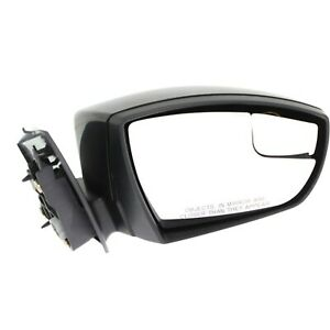 Power Mirror For 2015 2018 Ford Focus Right Side Manual Fold Paintable