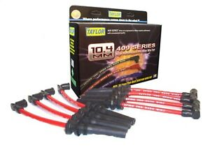 Taylor Cable 79210 409 Spiro Pro 10 4 Mm Ignition Wire Set Spiral Wound Core