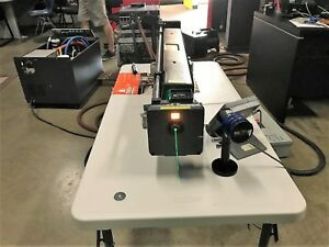 Coherent Innova 90c Ion Laser System With Power Supply Heat Exchanger Testet