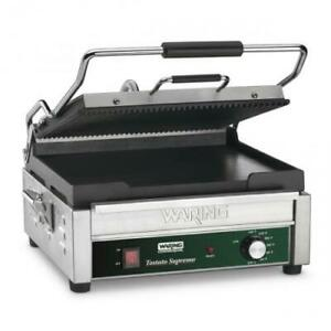 Waring Wdg250 Dual Surface Double Panini Press Sandwich Grill
