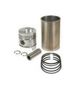 Pk20 Piston Kit For Ford Tractor 4000 901 801 4 Pistons Sleeves Pins Ring Kits