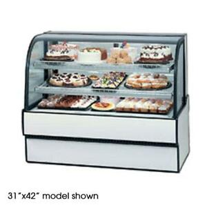 Federal Cgr3148 Curved Glass 31 X 48 Refrigerated Bakery Case