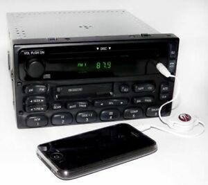 1999 Ford Ranger Truck Radio Am Fm Cd Cassette Player Radio W Aux Iphone Input
