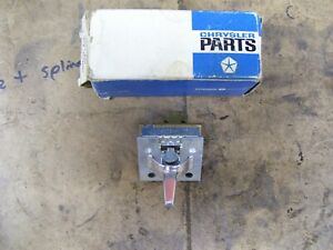 Nos 1972 1973 Chrysler Or Imperial Heater Ac Blower Switch