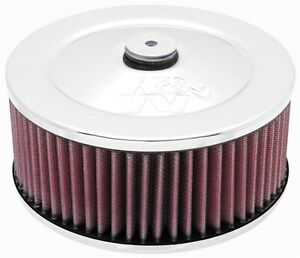 K N Filters 60 1330 Custom Air Cleaner Assembly With Racer Mind And Air Filter