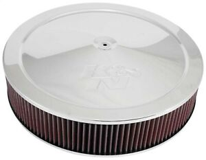 K N Filters 60 1640 Custom Air Cleaner Assembly