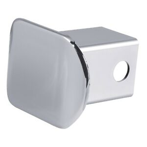 Curt 22171 Hitch Receiver Tube Cover Chrome Plastic Universal Fit 2 X 2