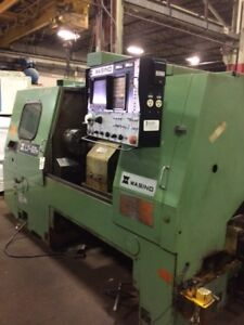 Wasino Lj 62m Cnc Lathe With Live Milling Fanuc Control See Video