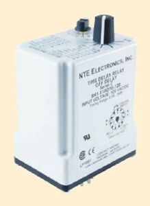 Programmable Dpdt 10 Amp Ac dc Delay On Release Relay Nte R61 11ad10 12