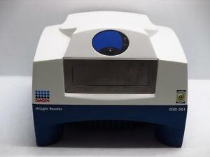 Genicon Qiagen Gsd 501 Hilight Reader Laboratory Micro Array Scanner