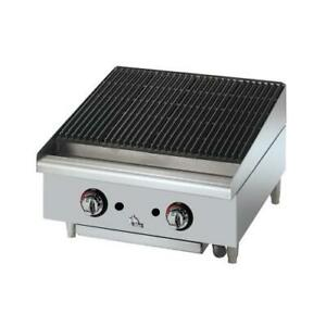 Star 6124rcbf Star max 24 In Radiant Gas Charbroiler