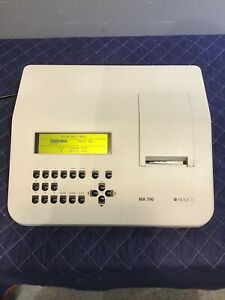 Maico Ma 790 Portable Audiometer Medical Healthcare Testing Equipment