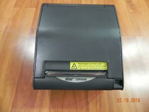 Star Micronics Tsp800ii Point Of Sale Thermal Printer Parallel No Ac Adapter