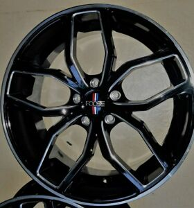 4 New 20 Staggered Rims Wheels For 2010 2011 2012 Camaro Ls Lt Rs Ss Only 5716
