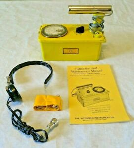 tested Working Civil Defense Victoreen Cdv 700 6a Geiger Counter survey Meter