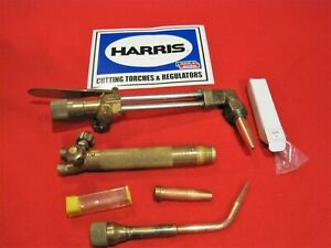 Welding Cutting Torch Harris Oxygen Acetylene Victor Smith Next Day Shipping