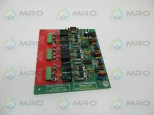 Unitrol Electric 9280f2 3ph 3 Phase Firing Board Used