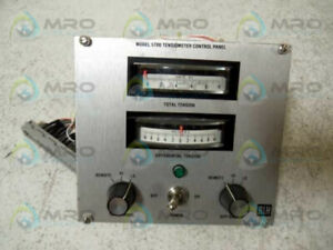 Blh Model 5700 Tensiometer Control Panel as Pictured New No Box