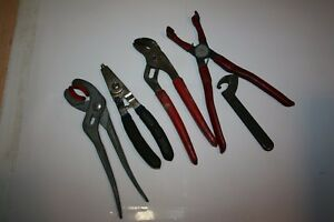 Snap On Tools Adjustable Connector Boot Retaining Ring Pliers Spanner Wr