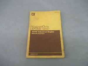 Caterpillar Tractor 3208 Industrial Engine Naturally Aspirated Parts Books