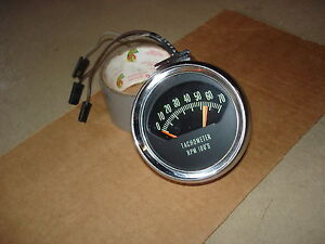 1966 66 Chevelle Super Sport Original L 34 396 360 Knee Knocker Tachometer Tach