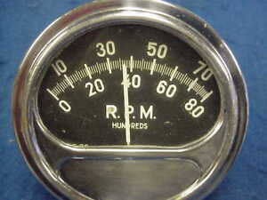 Vintage Sun Tach Tachometer For Mag Magneto Sprint Car 4 Cyl Race Car