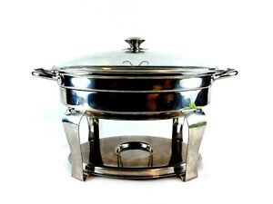 Costco 4 2 Quart Stainless Oval Chafing Dish 456107