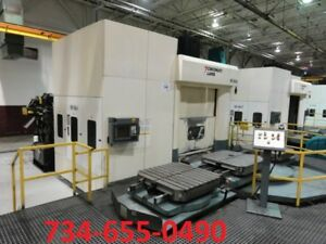 2005 Cincinnati Magnum 1000xt Cnc Horizontal Machining Center 40 Pallets video
