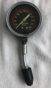 Vintage Compression Tester 300 Lbs Max Made In Usa